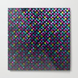 Polkadots Jewels G215 Metal Print