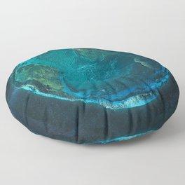 Globe: Relief Atlantic Floor Pillow