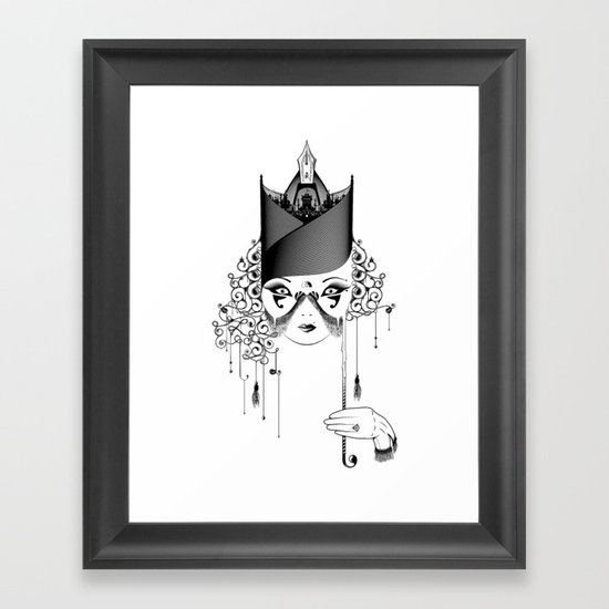 Maskjesty Framed Art Print