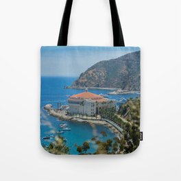 Catalina Island Casino Tote Bag