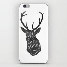 Merry Christmas Deer (4) iPhone Skin