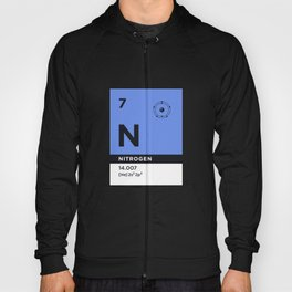 Periodic Element B - 7 Nitrogen N Hoody