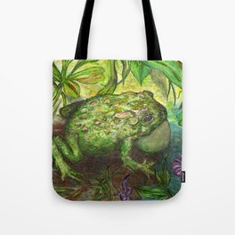 Rain Forest Toad Tote Bag