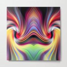 Contemplating Rainbows Metal Print