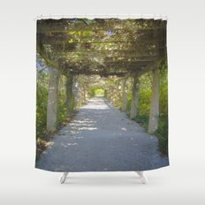 Perfect pathway Shower Curtain