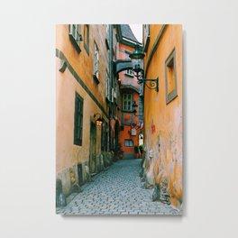 Griechengasse, Vienna Metal Print