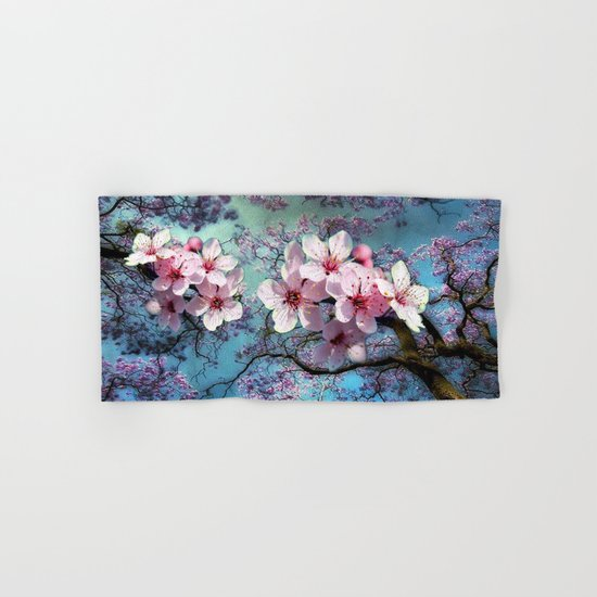 Cherry Blossoms Hand & Bath Towel