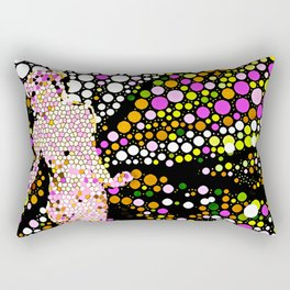 Butterfly Woman Rectangular Pillow