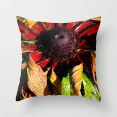 Still Vibrant Throw Pillow
