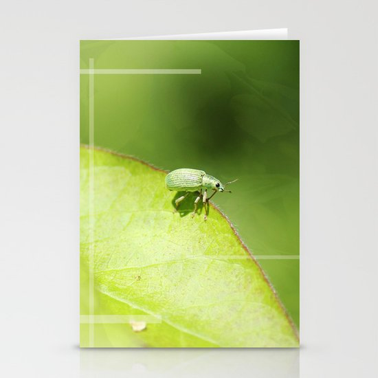 The Beetle Stationery Cards