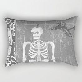 SKELETON IN THE CLOSET Rectangular Pillow