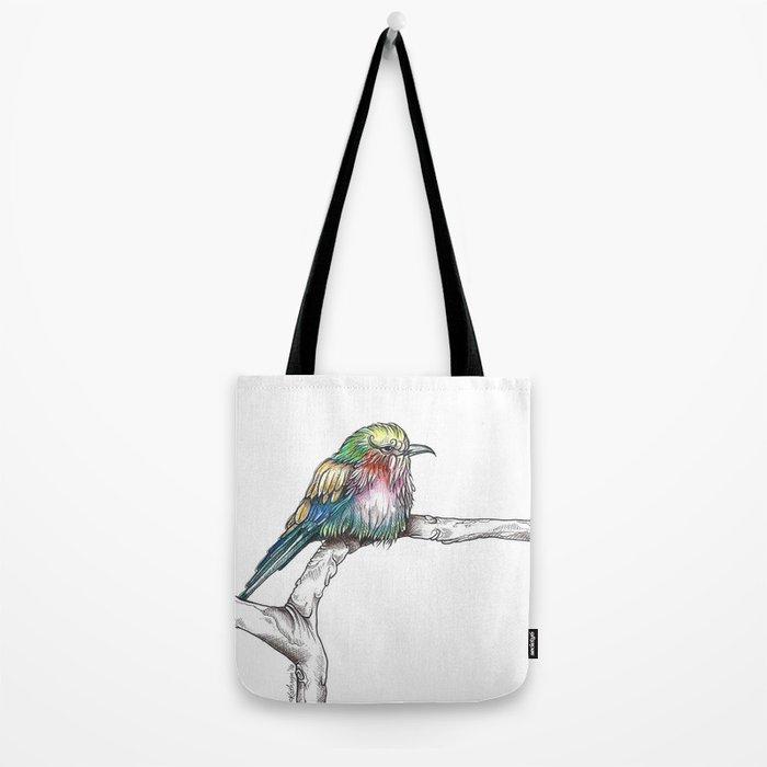 Mr. Grumpypants Rollerbird Tote Bag