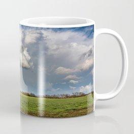 Under the Rainbow - Rainbow Over Oklahoma Landscape Coffee Mug