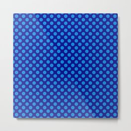 polka dot, variation, original pattern Metal Print