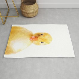 Duckling Portrait Rug