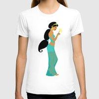 jasmine T-shirts featuring Jasmine by Eva Duplan Illustrations