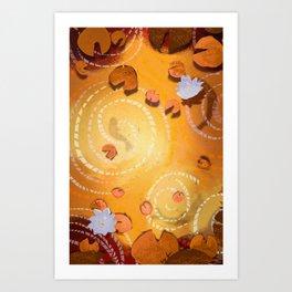 Pond! Art Print