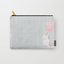 Believe in unicorns Carry-All Pouch