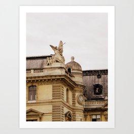 The Trumpeter of Paris  Art Print