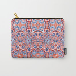 Seamless mandala Carry-All Pouch