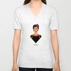 Frida ii Unisex V-Neck