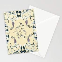FLOWERS OF GOOD WEALTH Stationery Cards
