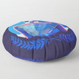 Lightspeed Racer Floor Pillow
