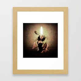 "The Poet ""Flame"" Framed Art Print"