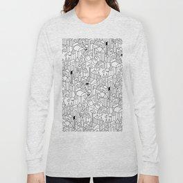 Little Escher's Building Blocks Long Sleeve T-shirt