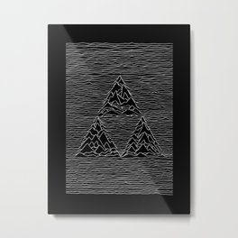 Triforce // Joy Division Metal Print