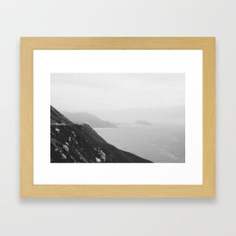 Turned the Corner Framed Art Print