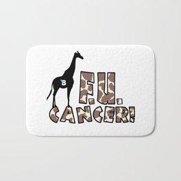 Team Bennett - FU CANCER! Bath Mat