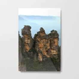 Three Sisters Sydney Australia Metal Print