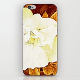 Rambling Rose iPhone Skin