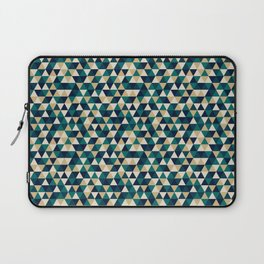 Colorful Triangles Pattern 3 Laptop Sleeve