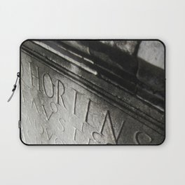 wisdom in stone. Laptop Sleeve