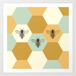 Beehive Art Print