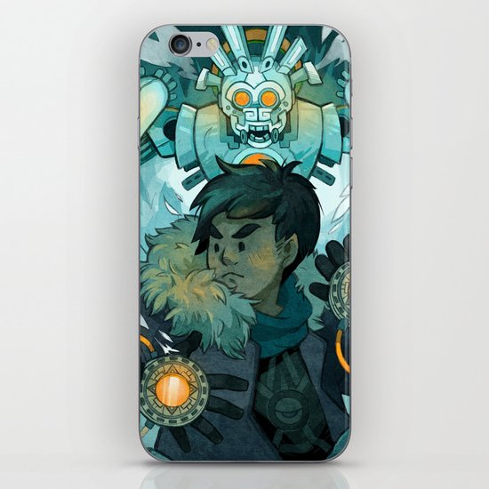Aztec Gundam iPhone Skin