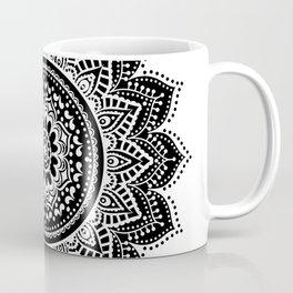 black white mandala Coffee Mug