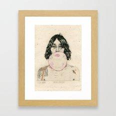 Hard Knock Framed Art Print