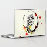 peach Laptop & iPad Skins featuring Peach by Mitja Bokun