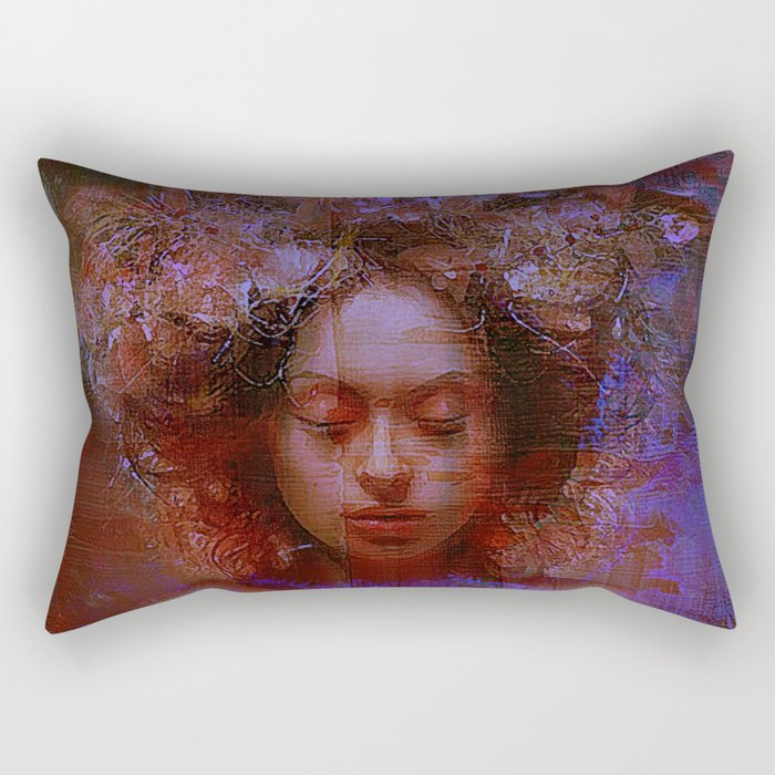 Guard of the dreams Rectangular Pillow