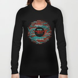 PHISH THE BAKERS DOZEN TOUR DATES 2019 KURA KURA Long Sleeve T-shirt