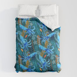 Sparkling Firefly Squid  Comforters