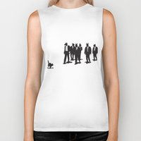 reservoir dogs Biker Tanks featuring Reservoir Dogs by Clayton Dixon