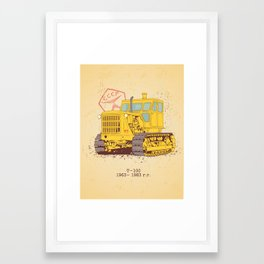 T 100 Framed Art Print