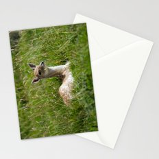 Fallow deer fawn Stationery Cards