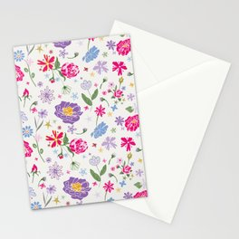 Fragrant Blooms Stationery Cards
