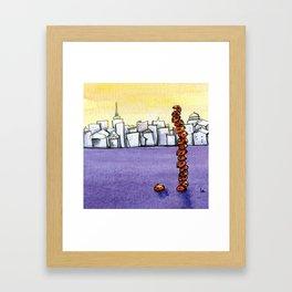 Sky Scraper Framed Art Print