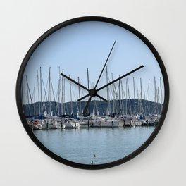 Lake Balaton Wall Clock